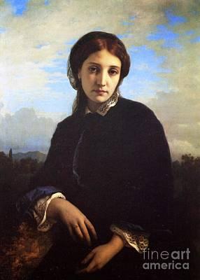 Portrait Of Maria Pucci  Poster