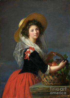 Portrait Of Marie Gabrielle De Gramont Poster by Celestial Images