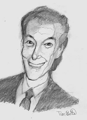 Portrait Of Neville Goddard Poster by Tim Botta