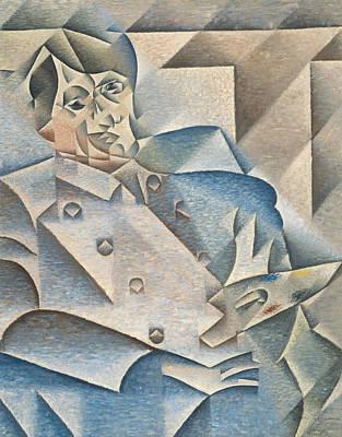 Portrait Of Pablo Picasso Poster by Juan Gris
