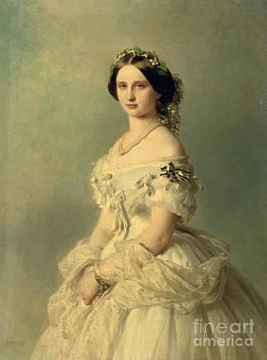 Portrait Of Princess Of Baden Poster