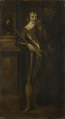 Portrait Of Robert Rich  Nd Earl Of Warwick Poster by After Anthony van Dyck