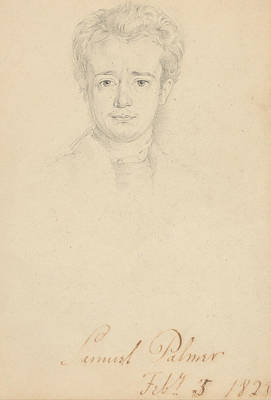 Portrait Of Samuel Palmer, February 5, 1828 Poster by George Richmond