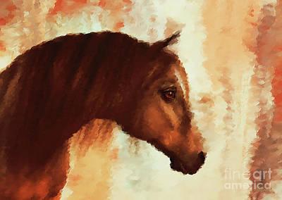 Portrait Of Sienna Poster
