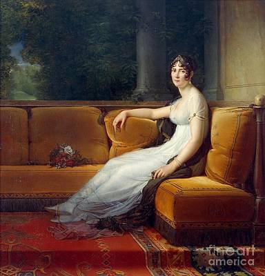 Portrait Of The Empress Josephine  Poster by MotionAge Designs