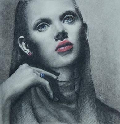 Portrait Study Poster