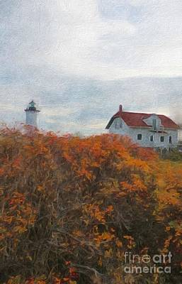 Portsmouth Harbor Lighthouse Poster by Marcia Lee Jones