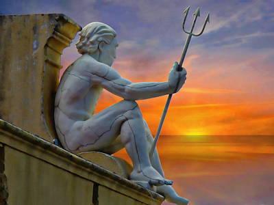 Poseidon - God Of The Sea Poster