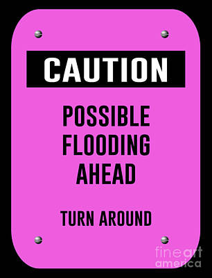 Possible Flooding Ahead Poster