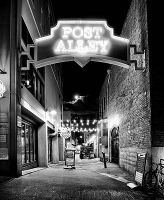 Post Alley Poster by Tanya Harrison