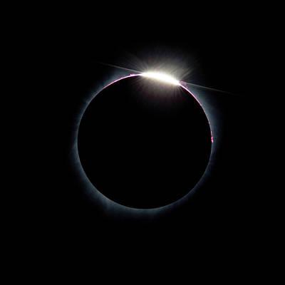 Post Diamond Ring Effect Poster