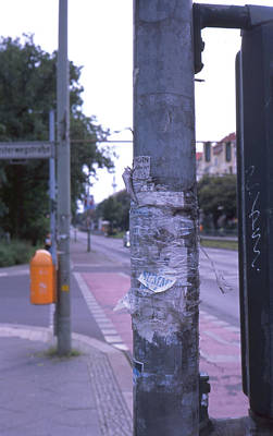 Posts And Towers In Berlin Poster