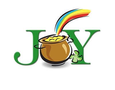 Pot Of Gold Joy Poster