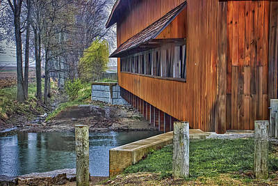 Union County Covered Bridge Poster by William Sturgell
