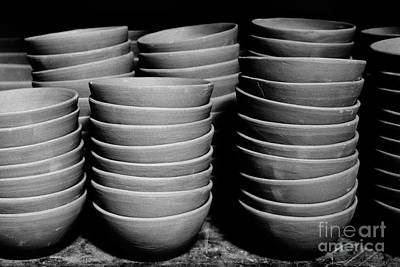 Pottery Bowls Poster
