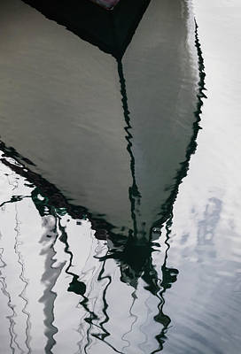 Poulsbo Boat Abstract Poster