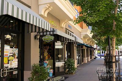 Powells Sweet Shoppe In Petaluma California Usa Dsc3833 Poster by Wingsdomain Art and Photography