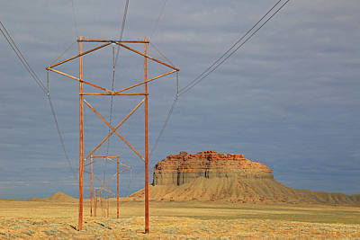 Power Lines Poster by Donna Kennedy