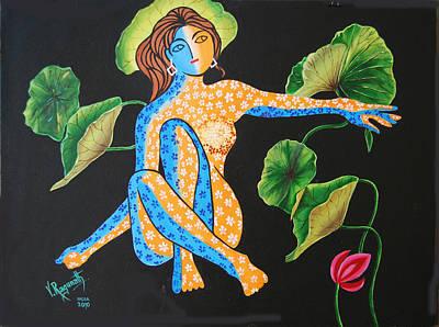 Power Of Nature Poster by Ragunath Venkatraman