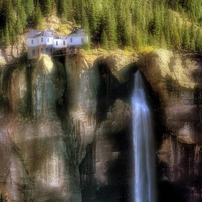 Bridal Veil Falls Power Plant - Telluride - Colorado Poster by Jason Politte
