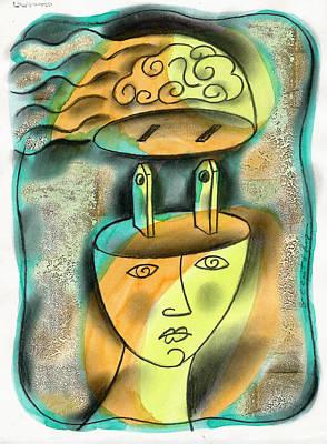 Powerful Thinking Poster by Leon Zernitsky
