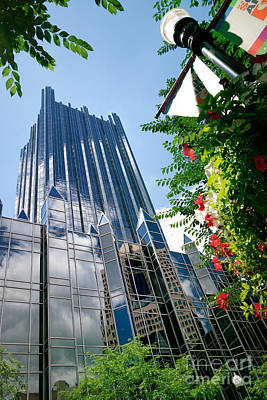 Ppg Place Market Square Pittsburgh Pennsylvania Poster by Amy Cicconi