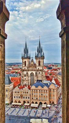 Prague 04 Poster by James Bond