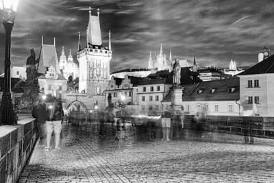 Prague 21 Poster by James Bond