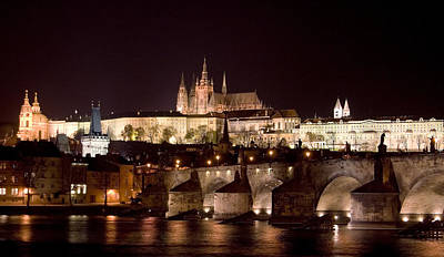 Prague Castle Poster by Shawn Everhart