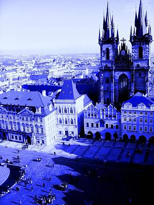 Poster featuring the photograph Prague Cz by Michelle Dallocchio