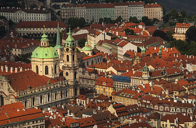 Prague From Above Poster