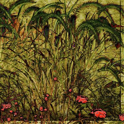 Prairie Grass Poster by Barbara Berney