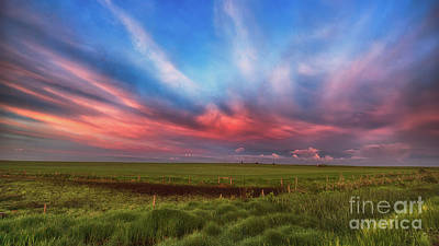 Prairie Skies Poster