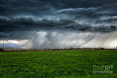Prairie Squall I Poster