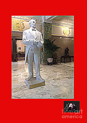 Praise To The Man Joseph Smith Who Communed With Jehovah Poster by Richard W Linford
