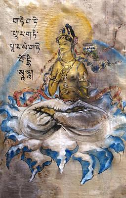 Prajnaparamita  Poster by Silk Alchemy