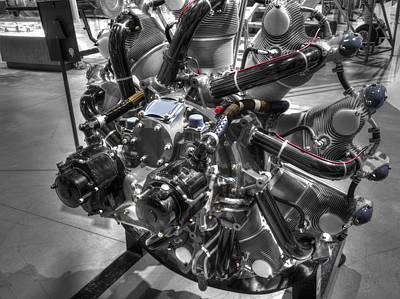 Pratt And Whitney  Engine Aeronautics Poster