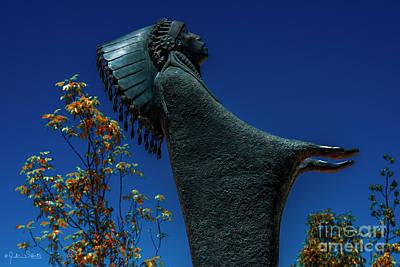 Prayer Statue #6 Poster by Julian Starks