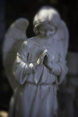 Praying Angle Poster