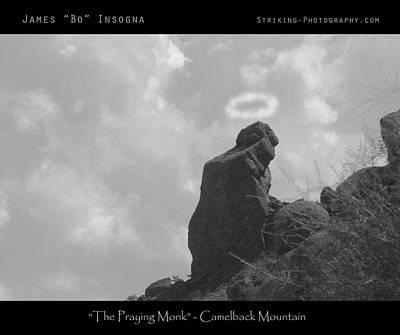 Praying Monk - Arizona - Poster Print Poster