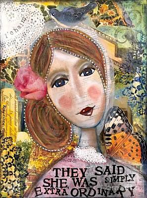 Precious Phyllis Poster by Kathy Donner Parara