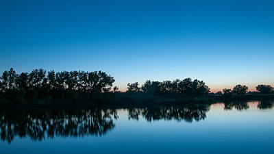 Poster featuring the photograph Predawn At Arapaho Bend by Monte Stevens