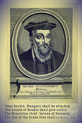 Predictions Of Nostradamus 4 Poster