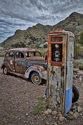 Premium No 2 Diesel Pump Poster by Susan Candelario