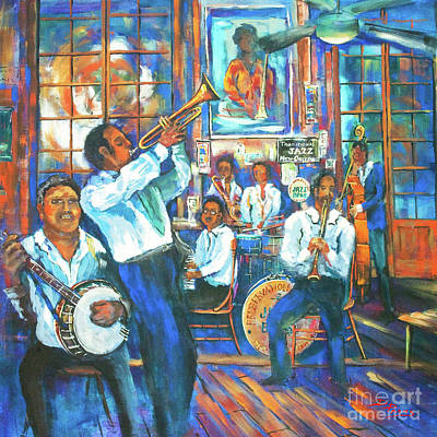 Preservation Jazz Poster by Dianne Parks