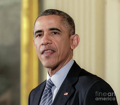 President Barack Obama Poster by Ava Reaves