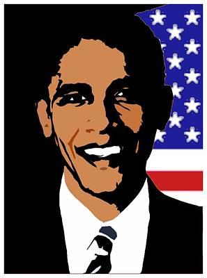 President Barack Obama Poster by Otis Porritt