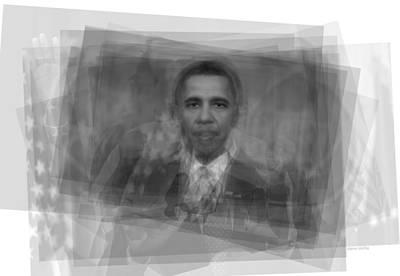 President Barack Obama  Poster by Steve Socha