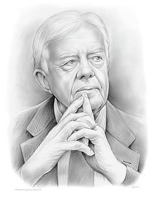 President Carter Poster by Greg Joens