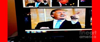 President Elect Donald Trump Told You I'm A Winner Poster by Richard W Linford